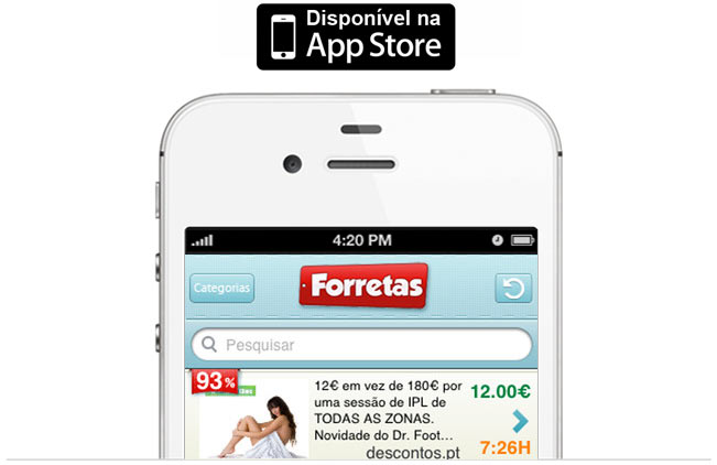 iForretas iPhone App