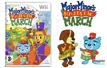 Dita o ritmo da banda na pele do Major Minor! Major Minor's Majestic March para a Wii, por apenas 5€