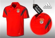 BLACK FRIDAY: Pólo Oficial ADIDAS do SLBenfica. Para todos os benfiquistas!