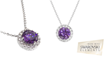 Colar Musaventura® PURPLE com Cristais Swarovski Elements!