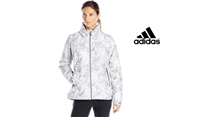 Adidas® Casaco Printed Insulated Wandertag - Tecnologia Climaproof® - 38